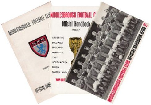 Middlesbrough Football Club Official Handbooks